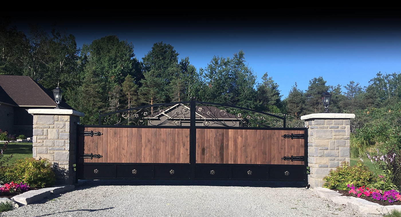 Wrought iron gates, railings & more! Call for a free estimate today!905-868-2488